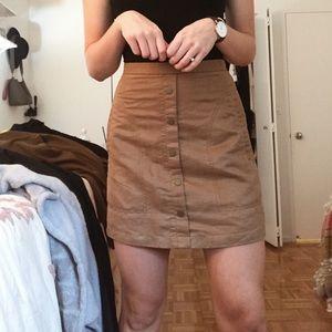 High waisted H&M skirt